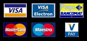 I metodi di pagamento accettati