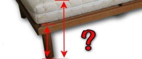 🛌 Altezza ideale per il letto con piano di rete a doghe