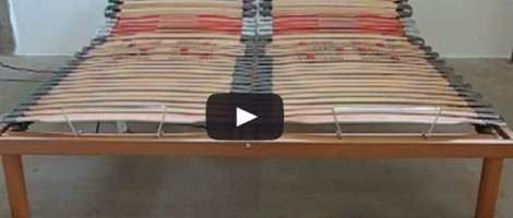 👍 [con VIDEO] Rete Motorizzata a 2 piazze con 1 materasso matrimoniale. Come fare.