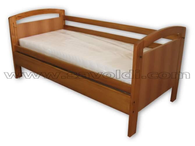 Giro Letto Artigianale a Sponde mobili Smart-Bed Deluxe
