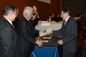 La cerimonia di assegnazione del riconoscimento