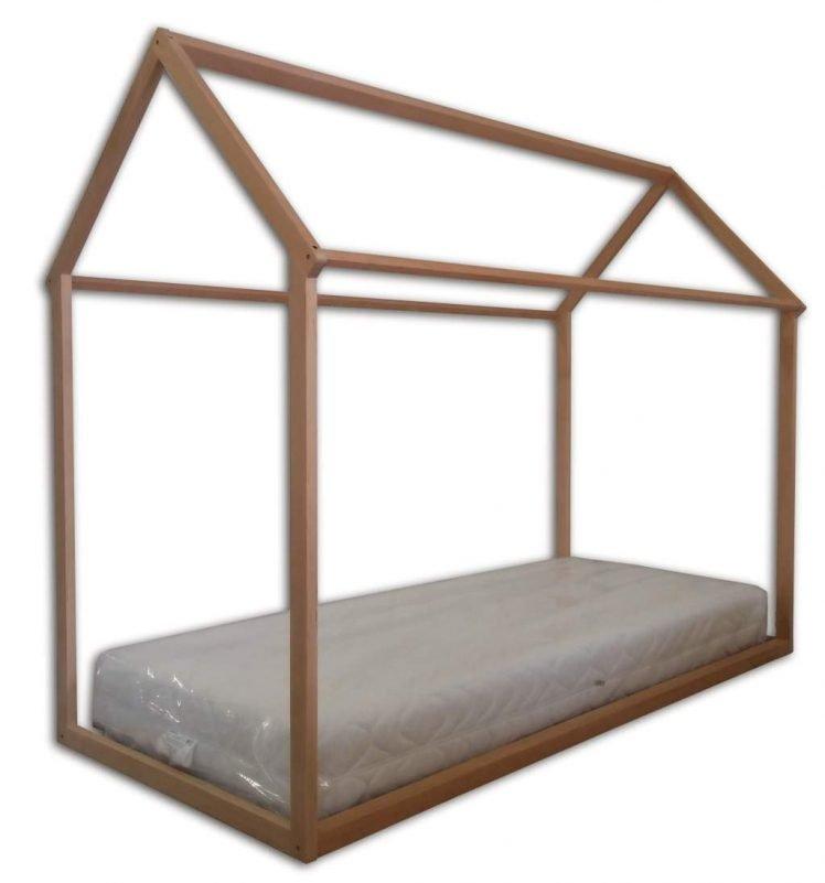 Immagine indicativa del lettino per bambini di ispirazione montessoriana completo di materasso (acquistabile a parte)