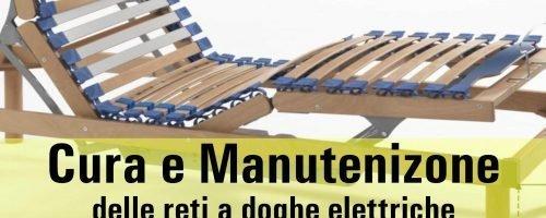 Cura e MANUTENZIONE delle Reti a DOGHE ELETTRICHE