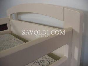 Giroletto sponde bianco profilo dettaglio