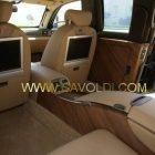 Lavoro ultimato rivestimento interni della Limousine del Presidente della Repubbllica