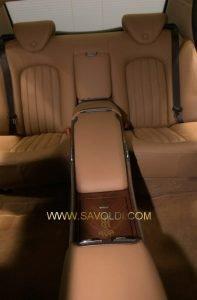 Dettaglio Rivestimento interni della Limousine del Presidente della Repubbllica