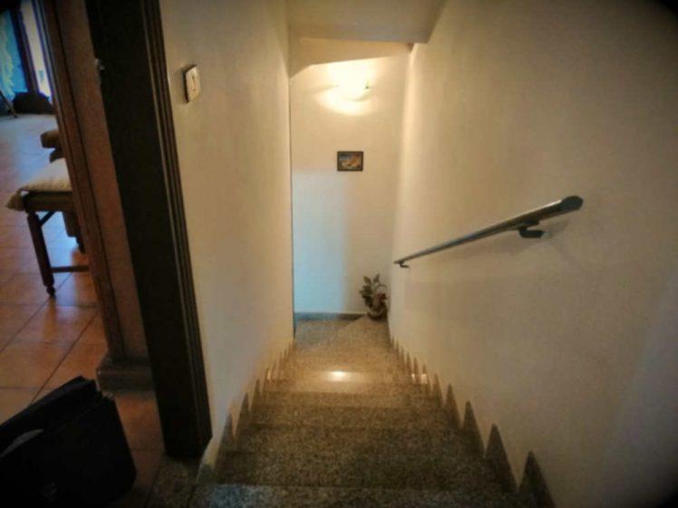 Il problema: le scale sono senza protezione