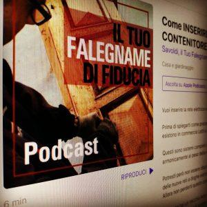 Novità: il Podcast dall'Artigiano del Legno