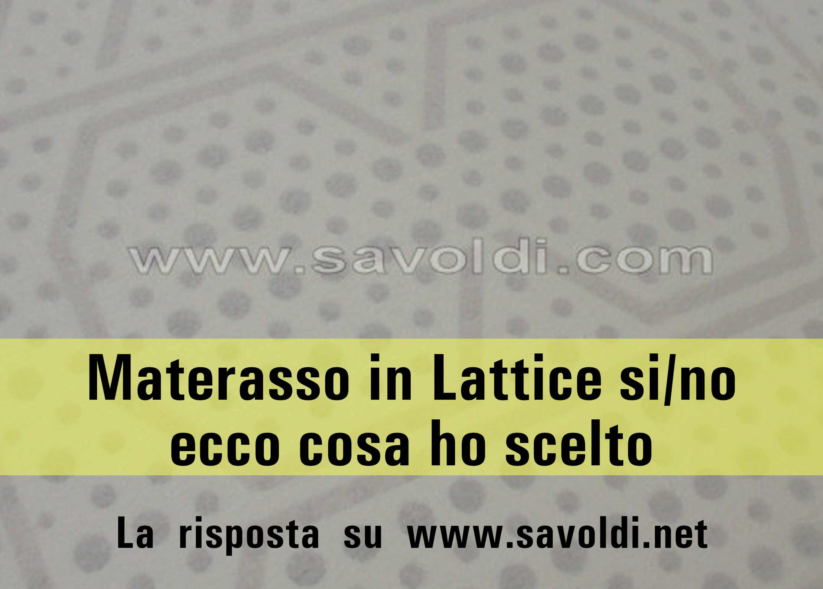 Manutenzione Materasso In Lattice materassi in lattice: perché ho deciso di scegliere altro?