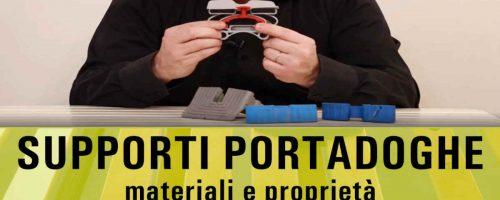 Proprietà e Materiali dei SUPPORTI PORTA DOGHE