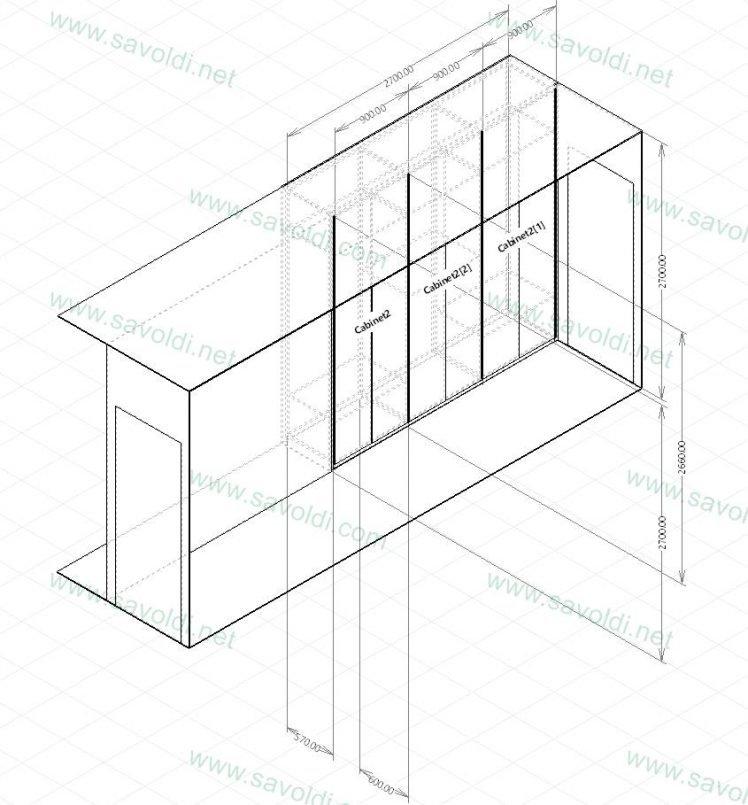 Il progetto del tuo armadio su misura