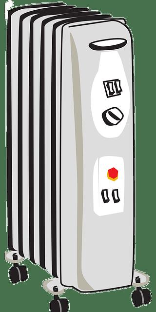 Radiatore a olio per il riscaldamento