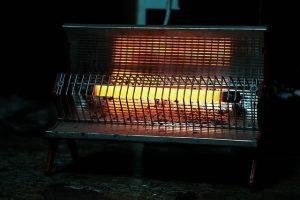 Stufa alogena per il riscaldamento