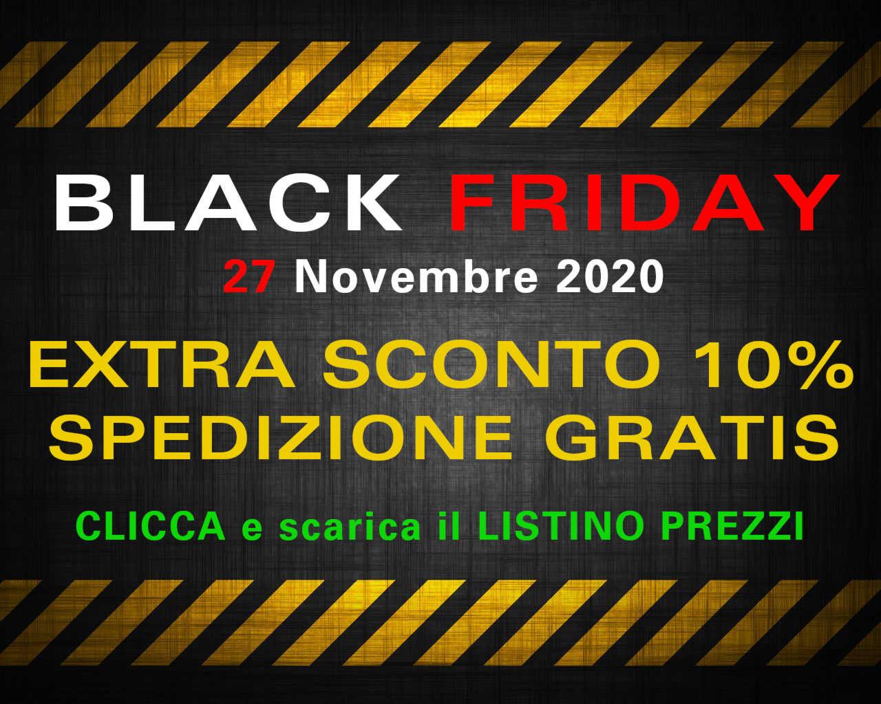 BLACK FRIDAY 2020 LISTINO PREZZI