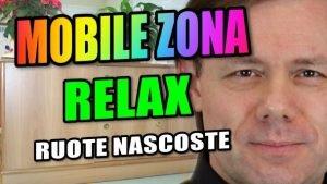 Mobile con Ruote per zona Relax