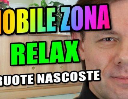 Mobile a Ruote per zona Relax Polifunzionale